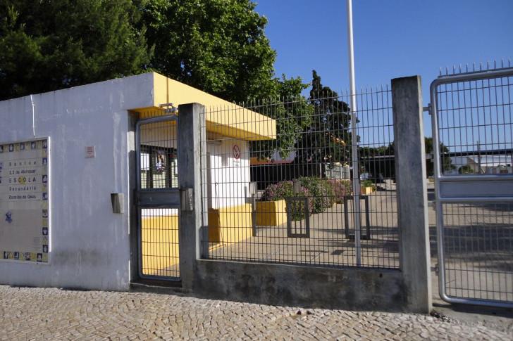 Visita à Escola Secundária Damião de Goes